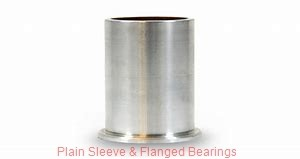 Bunting Bearings, LLC EP121808 Plain Sleeve & Flanged Bearings