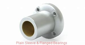 Bunting Bearings, LLC EP020408 Plain Sleeve & Flanged Bearings