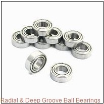 0.3125 in x 0.8750 in x 0.2813 in  Nice Ball Bearings (RBC Bearings) 1603DSTNTG18 Radial & Deep Groove Ball Bearings