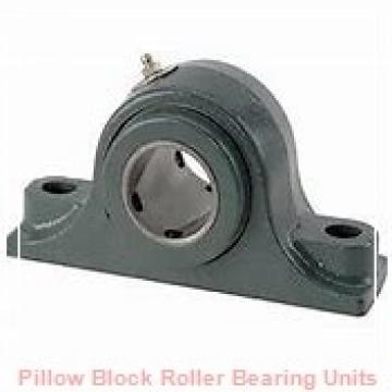 4.4375 in x 13-1/4 to 13-3/4 in x 6-3/4 in  Dodge P4BE407R Pillow Block Roller Bearing Units