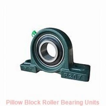 3.4375 in x 10-3/4 to 11-1/4 in x 5 in  Dodge P4BE307R Pillow Block Roller Bearing Units
