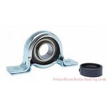 2.1875 in x 7.63 to 7.88 in x 3-3/4 in  Dodge P2BE203R Pillow Block Roller Bearing Units