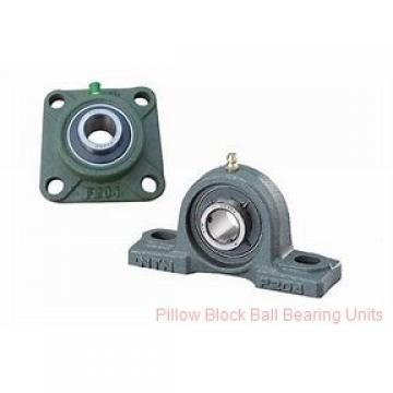 0.7500 in x 3-3/8 to 4-1/8 in x 1-7/32 in  Sealmaster CRPS-PN12 S Pillow Block Ball Bearing Units