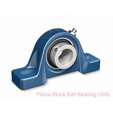1.6875 in x 5.4375 to 6.8125 in x 2.0313 in  Sealmaster MP-27 C Pillow Block Ball Bearing Units