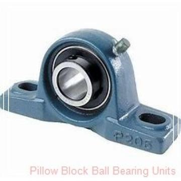 1.938 Inch | 49.225 Millimeter x 2.031 Inch | 51.59 Millimeter x 2.25 Inch | 57.15 Millimeter  Sealmaster TB-31TC Pillow Block Ball Bearing Units