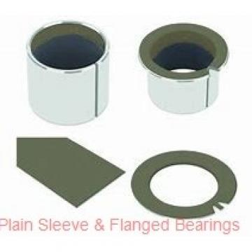 Bunting Bearings, LLC CB081618 Plain Sleeve & Flanged Bearings