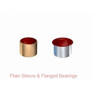 Bunting Bearings, LLC AA240301 Plain Sleeve & Flanged Bearings