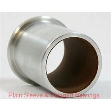 Oilite AA744-04B Plain Sleeve & Flanged Bearings