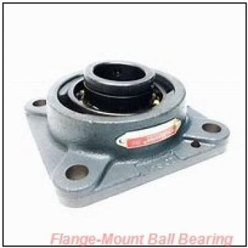 1.0000 in x 3.8900 in x 4.9200 in  NSK SUCSFL205-16 Flange-Mount Ball Bearing Units