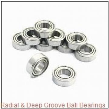 1.2500 in x 2.5625 in x 0.6875 in  Nice Ball Bearings (RBC Bearings) 1657DCTNTG18 Radial & Deep Groove Ball Bearings