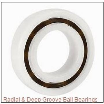 General 6203 2RS X 3/4 Radial & Deep Groove Ball Bearings
