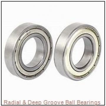 0.5000 in x 1.3750 in x 0.5313 in  Nice Ball Bearings (RBC Bearings) 5881VMF53 Radial & Deep Groove Ball Bearings