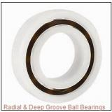1.2500 in x 2.5000 in x 0.6250 in  Nice Ball Bearings (RBC Bearings) 1654DSTNTG18 Radial & Deep Groove Ball Bearings