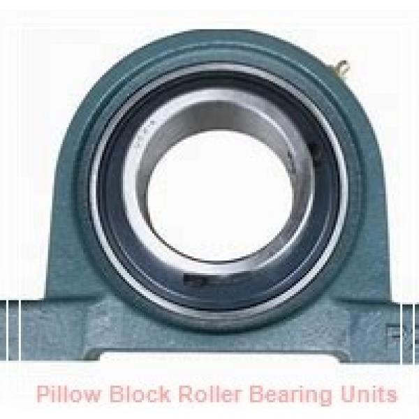 2.4375 in x 8.31 to 8.69 in x 4 in  Dodge P4BE207R Pillow Block Roller Bearing Units #1 image